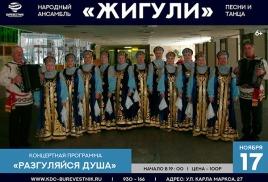 17 ноября сольный концерт НАПиТ «Жигули»